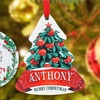 75% Off Personalized Family Ornament from Monogram Online