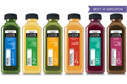 $97 for a ThreeDay Juice Cleanse from Standard Market ($126 Value)