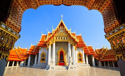 Groupon Deal: 9-Day Tour of Thailand with Airfare and Sightseeing Tours from Gate 1 Travel. Price/Person Based on Double Occupancy.