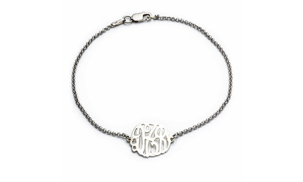$29.99 for Monogrammed Bracelet at Luce Mia ($110 Value)