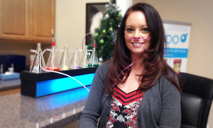 Center for Anti-Aging - Fayette Mall: 20 or 30 Minutes of Pure-Oxygen Aromatherapy Bar at Center for Anti-Aging (60% Off)