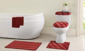 12 Piece Bath Set With Rugs Groupon Goods