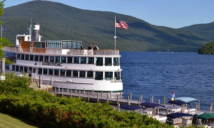 Two-Hour Sightseeing Cruise for Two or Four from Lake George Shoreline Cruises (Up to 53% Off)