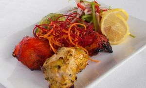 Brick Lane Curry House: Indian Meal for Two or Four with Appetizers and Naan at Brick Lane Curry House (Up to 40% Off)