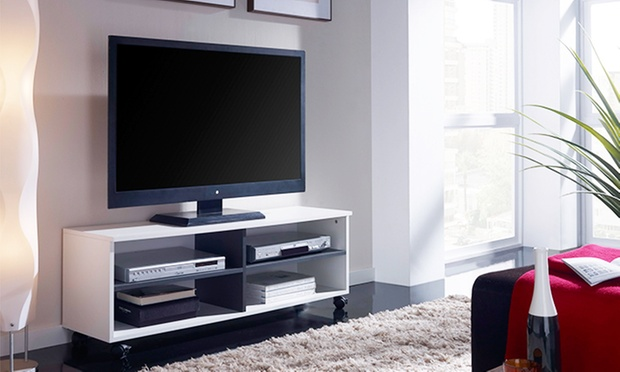 meuble tv groupon shopping. Black Bedroom Furniture Sets. Home Design Ideas