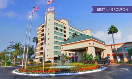groupon daily deal - Stay at Ramada Gateway Hotel in Kissimmee, FL. Dates into May.