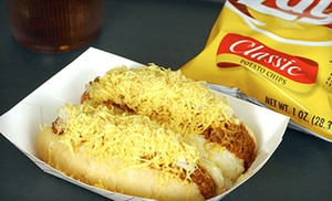 Top Dog Classic Coneys: $5.50 for $10 Worth of Hot Dogs at Top Dog Classic Coneys