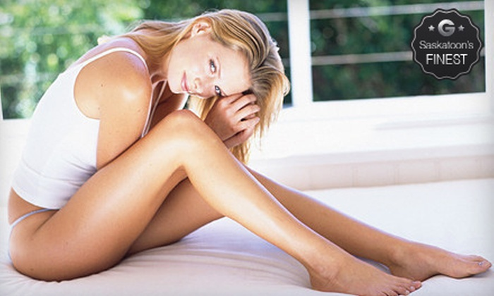 SunSera Salons - Multiple Locations: Two or Four Spider-Vein-Removal Treatments at SunSera Salons (Up to 79% Off)