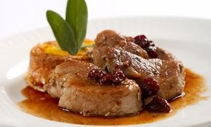 Essence: 4-Gänge-Menü mit Pfannenmedaillons für Zwei, Vier oder Sechs im Restaurant Essence (bis zu 43% sparen*)