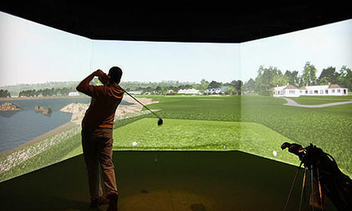 Inside Edge Golf - Minnetonka - Hopkins: PGA Tour Simulated Golf, Snacks, and Drinks at Inside Edge Golf in Eden Prairie (Half Off). Two Options Available.