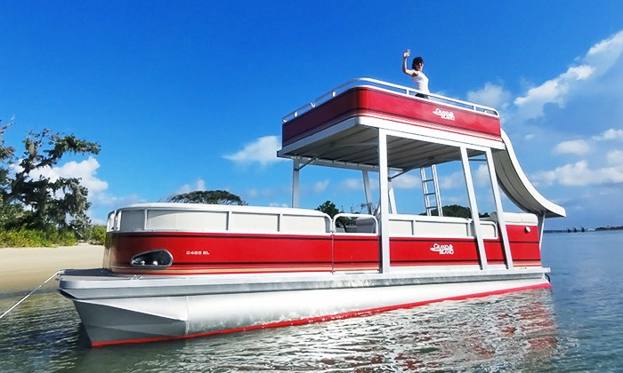 Extreme Water Adventures - St. Augustine: Pontoon Cruise for Up to 6 or 10 People from Extreme Water Adventures (50% Off)