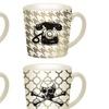 Set of 4 Sketch Icon Artwork Mugs