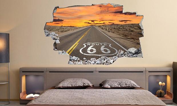 wandtattoo mit 3d effekt groupon goods. Black Bedroom Furniture Sets. Home Design Ideas