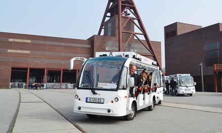 Erlebnis-Linienfahrt UNESCO-Welterbe Zollverein für 1 oder 2 Erwachsene mit Ruhrgebiet Stadtrundfahrten