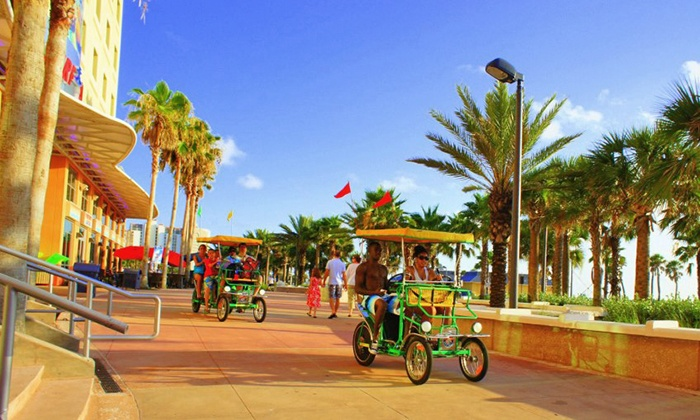 Wheel Fun Rentals - Multiple Locations: Boat or Bike Rentals from Wheel Fun Rentals (44% Off)