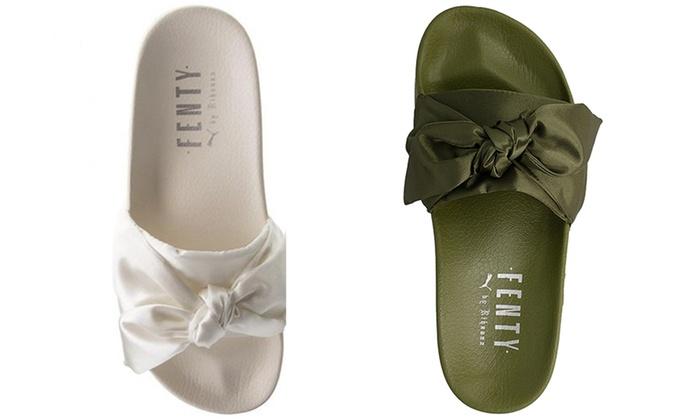 gamma completa di articoli più alla moda scopri le ultime tendenze Puma Fenty Women's Sandals | Groupon
