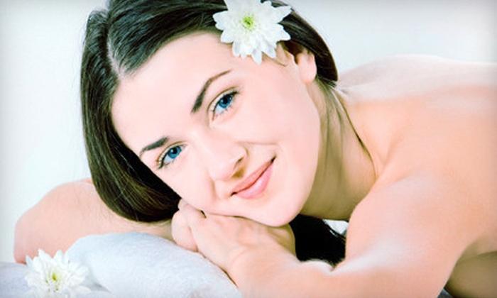 BeautyfulSkins - Village Center: Swedish or Cranberry Pomegranate Massage with Optional Cranberry Pomegranate Facial at BeautyfulSkins (Up to 70% Off)