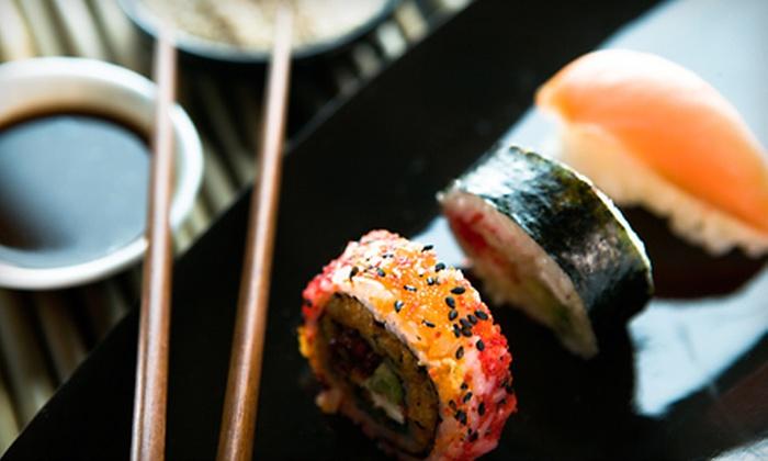 SakeZake - Grayslake: $15 for $30 Worth of Sushi and Drinks at SakeZake in Grayslake