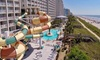 Oceanfront Myrtle Beach Hotel with Water Park