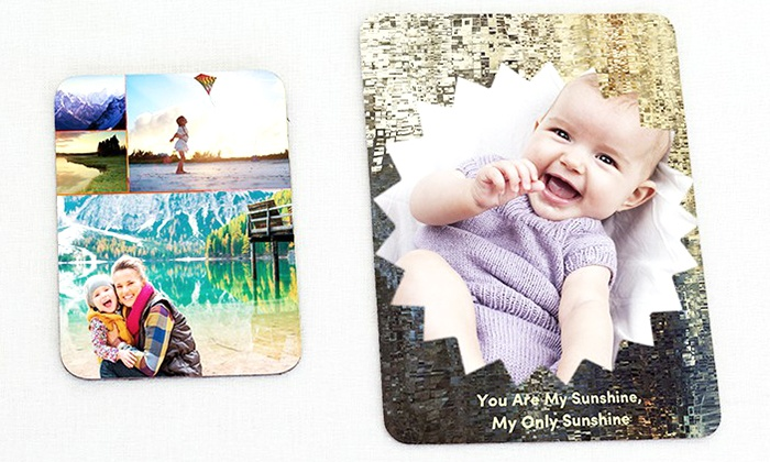 """Collage.com: $5 for Set of Two 3.5"""" x 5"""" Photo Magnets from Collage.com ($19.98 Value)"""