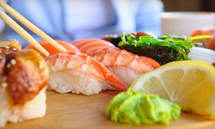 Masa Sushi Japanese Cuisine - Woodbridge: Sushi and Japanese Food at Lunch or Dinner for Two at Masa Sushi Japanese Cuisine (Up to 52% Off)