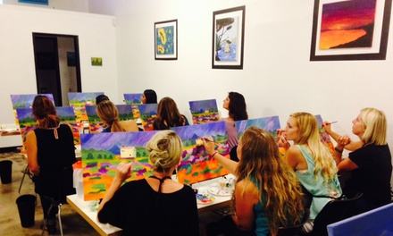 Up to 60% Off $29 for $60, $10 for $25 at Valley Painting Parties