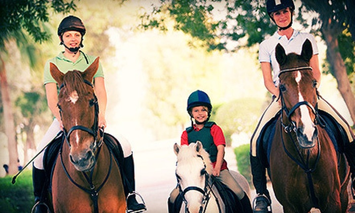 Healing Horse Adventures - Simi Valley: Private Trail Ride or Horseback-Riding Lesson for One or Two at Healing Horse Adventures in Simi Valley (Up to 67% Off)