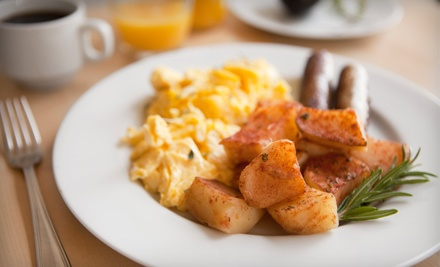Breakfast and Cafe Food at Pergamino Cafe (Up to 54% Off). Two Options Available.