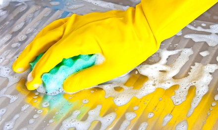Three Hours of Cleaning Services from Pampered Home Residential Cleaning Services (60% Off)