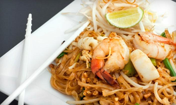 Tom Yum Koong III - Newton Highlands: $20 for $40 Worth of Thai Food and Sushi at Tom Yum Koong III