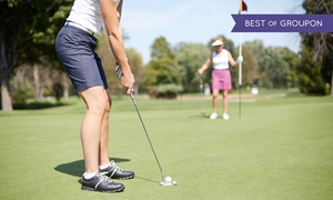 Champs FEC: Two- or Four-Hour Golf Simulator with C$10 or C$20 Meal Voucher at Champs FEC (Up to 54% Off)