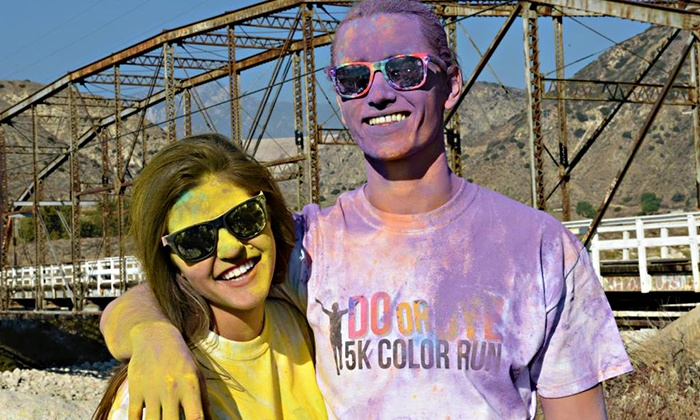 Do or Dye 5K Color Run Vail Lake - Murrieta: Entry for One or Two to the Do or Dye 5K Color Run Temecula on March 8, 2014 (Up to 55% Off)