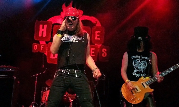 Appetite for Destruction or Who's Bad - House of Blues Houston: Appetite for Destruction on January 2 or Who's Bad on January 16 at House of Blues Houston (Up to 51% Off)