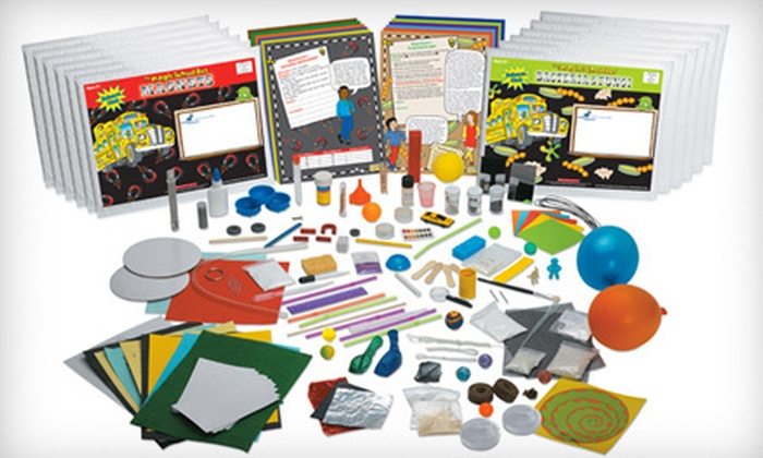 The Young Scientists Club: $71 for a Six-Month Membership to The Magic School Bus Science Club ($131.94 Value). Shipping Included.