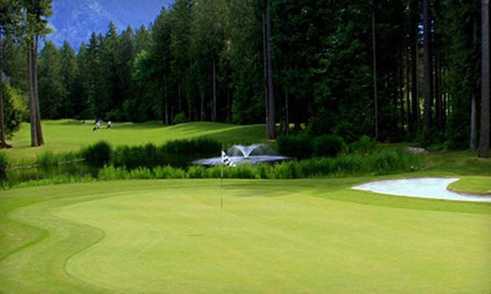 Cultus Lake Golf Club - Cultus Lake: Green Fees, Range Balls, and Power-Cart Rentals for Two or Four at Cultus Lake Golf Club (Up to 55% Off)
