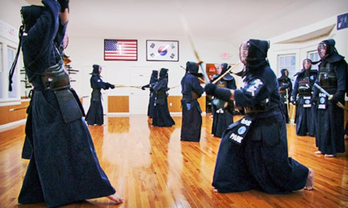 Kendo or Samurai-Sword Classes at Kendo Academy Sungmoo (Up to 63% Off). Choose from Five Options.