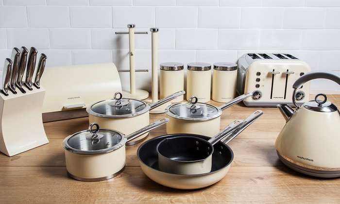 Groupon Goods Global Gmbh Morphy Richards Accents Complete Kitchen Set With Free Delivery