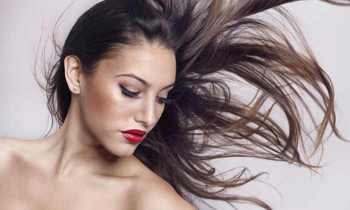 blooming barber and beauty salon - Bromley: Keratin Straightening Treatment from Blooming Hair Salon (50% Off)