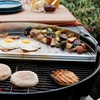 Stainless Steel Half-Circle Grill Griddle