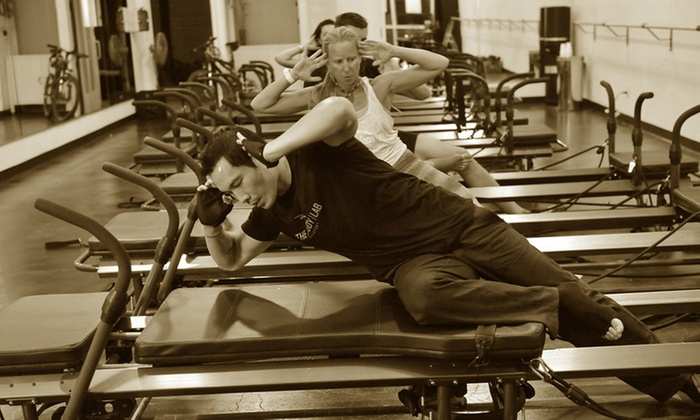 The Body Lab - Multiple Locations: Four or Eight Pilates+ Classes at The Body Lab (Up to 62% Off)