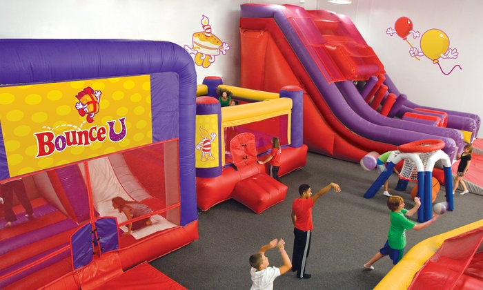 Bounce U - Henderson: Open-Bounce Sessions, Parties, and Day Camp at Bounce U (Up to 52% Off). Five Options Available.