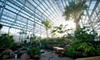 Nicholas Conservatory (Pre 2017) - Sinnissippi Park: Nicholas Conservatory & Gardens Visit for Two or Four (Up to Half Off)