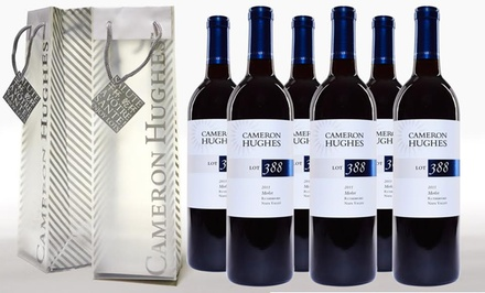 Lot 388 2011 Rutherford Merlot (6-Pack) with Two Bonus Gift Bags