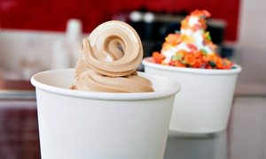 Froyo Bar: $9 for Five Groupons, Each Good for 8 Ounces of Frozen Yogurt at Froyo Bar De Soto ($15.60 Total Value)