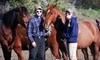 Heaven's Gate Outfitters - Pollock: Half- or Full-Day Horseback-Riding Excursion from Heaven's Gate Outfitters in Pollock (Up to 51% Off)