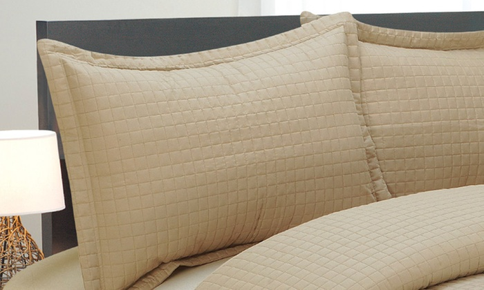 Natural Comfort Quilted Bedding Set: $49 for a Quilted Bedding Set in Queen or King ($169.99 List Price). Eight Colors Available. Free Shipping and Returns.