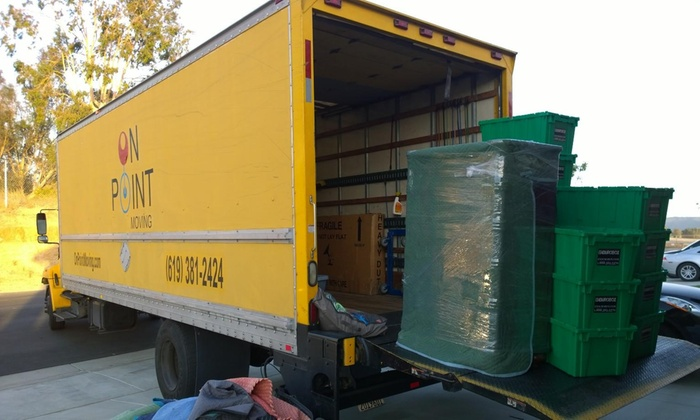 On Point Moving - San Diego: Two Hours of Moving Services with Two Movers and One Truck from On Point Moving