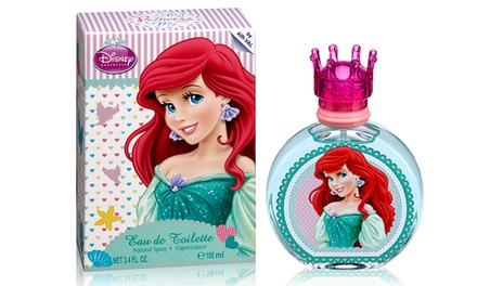 Disney Princess Ariel Eau de Toilette for Kids (3.4 Fl. Oz.)