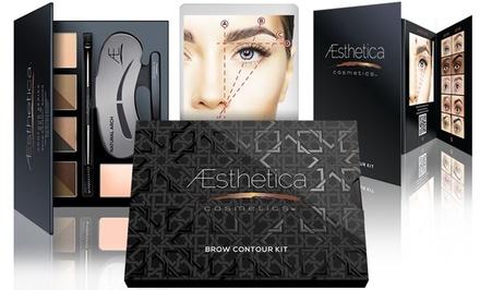 Aesthetica Cosmetics Brow Contour Kit