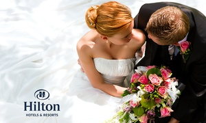 Hilton East Midlands: Wedding Package for 50 Day and 80 Evening Guests at Hilton East Midlands